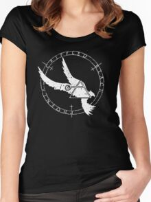 Crippled Black Phoenix 2015 A.D. (White V.1) Women's Fitted Scoop T-Shirt
