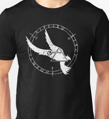 Crippled Black Phoenix 2015 A.D. (White V.1) Unisex T-Shirt