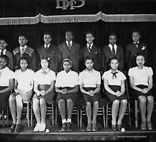 Carl Rowan's Senior Class by © Brady-Hughes- Beasley Archives