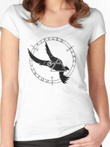 Crippled Black Phoenix 2015 A.D. (Black V.1) Women's Fitted Scoop T-Shirt