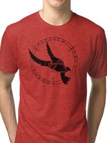 Crippled Black Phoenix 2015 A.D. (Black V.1) Tri-blend T-Shirt