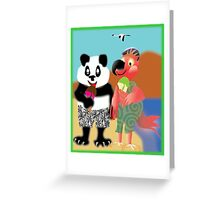 Larravide Ice Cream Stroll Greeting Card