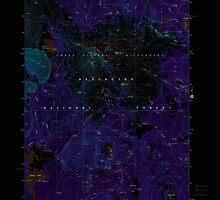 USGS Topo Map Oregon Broken Top 279146 1988 24000 Inverted by wetdryvac