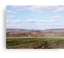Pastel Plains Metal Print