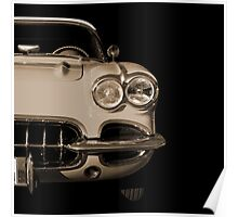 Classic Car (sepia) Poster