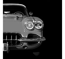 Classic Car (black&white) Photographic Print