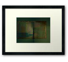 motel room  Framed Print