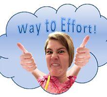 Way to Effort by Katelyn Moorman