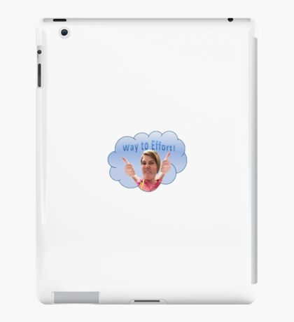 Way to Effort iPad Case/Skin
