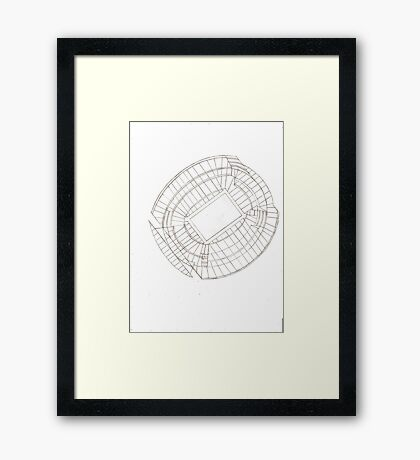 Future of Sac-Town Framed Print