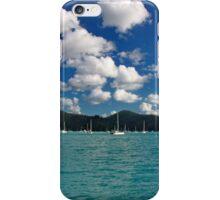 Whites on blues - Whitsundays iPhone Case/Skin