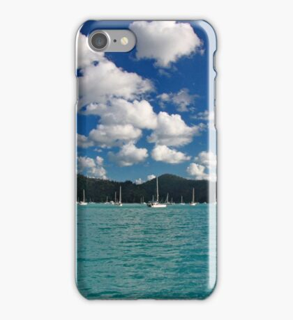 Whites on blues - Whitsundays iPhone Case/Skin