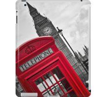 Telephone Booth in London iPad Case/Skin