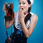 """Oups"" Pin-up Girl by Laura Balc Photography"
