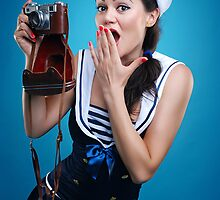 """Oups"" Pin-up Girl by Laura Balc Photographer"