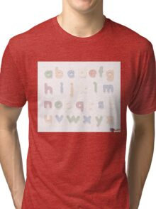 Fridge Letters - Texty illusion Tri-blend T-Shirt
