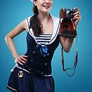 """""""Smile"""" Pin-up girl  by Laura Balc Photographer"""