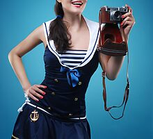 """Smile"" Pin-up girl  by Laura Balc Photography"