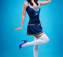 """Salute"" Pin-up Girl by Laura Balc Photographer"