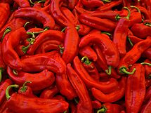 Sweet Red Peppers by Lee d'Entremont