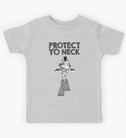 Protect Yo Neck Giraffe Kids Tee