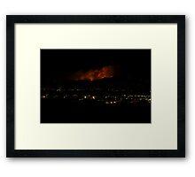Boulder Fourmile Canyon Fire Framed Print