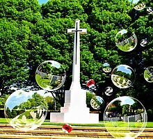 """Bubble's of Remembrance""""Tribute to our fallen Heroes"""" by Graham Southall"""