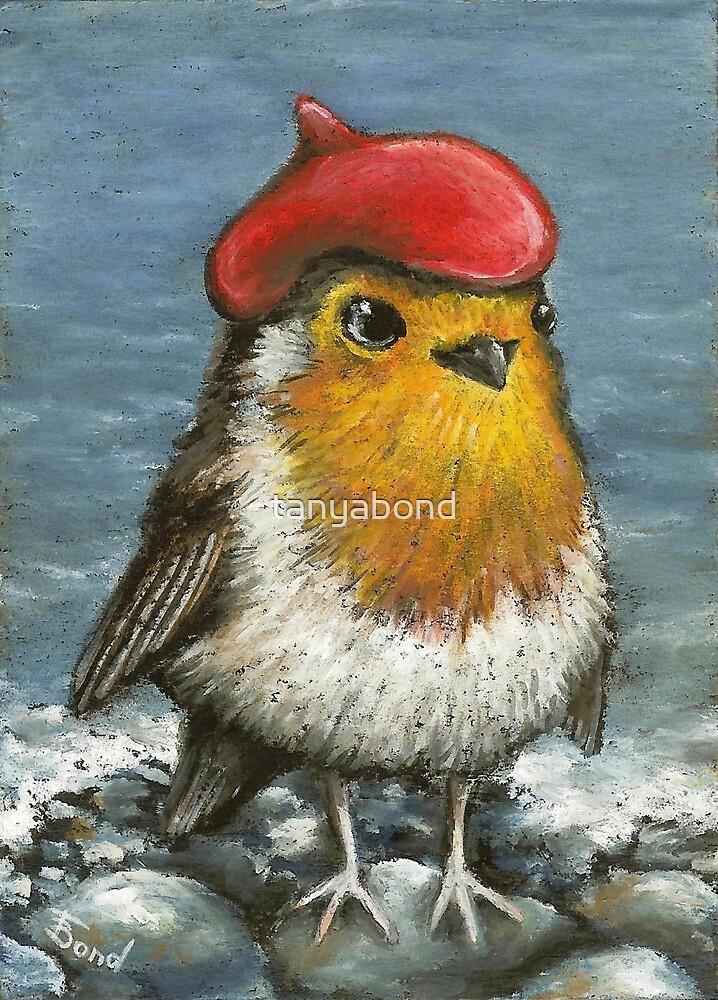 Master robin at the seashore by tanyabond
