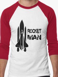 Rocket Man Men's Baseball ¾ T-Shirt