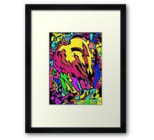 Comic Book on Steroids Framed Print