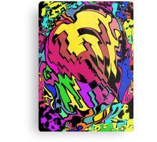 Comic Book on Steroids Metal Print