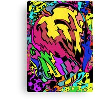 Comic Book on Steroids Canvas Print