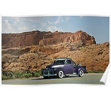 1953 Chevrolet Pickup Truck Poster