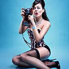 """Freeze"" Pin up Girl  by Laura Balc Photography"