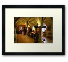 Room at the top of the Stairs, Ripon Cathedral Framed Print