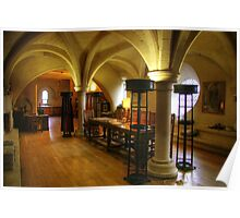 Room at the top of the Stairs, Ripon Cathedral Poster