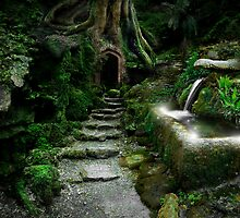 Entrance to Rivendell by Angie Latham