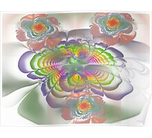 Four Bloom Bouquet  (UF0265) Poster