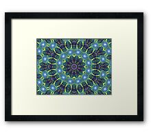Dark Star Zodiac Central Tesselations  (UF0268) Framed Print