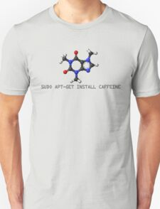 Coffee - Get Install Caffeine T-Shirt