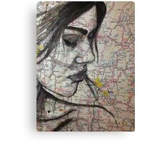 moving on Canvas Print