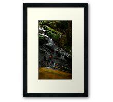 Waterfall @ Gunung Jerai Framed Print