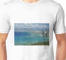 Honolulu from Diamond Head Unisex T-Shirt