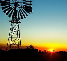 Bonney Well NT  by Anthony  Hoiland