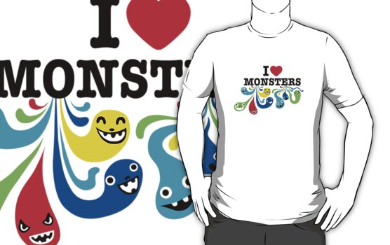 I Heart Monsters by Andi Bird