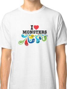 I Heart Monsters Classic T-Shirt