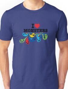 I Heart Monsters T-Shirt