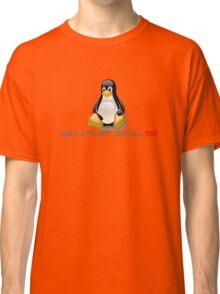 Linux - Get Install Tea Classic T-Shirt