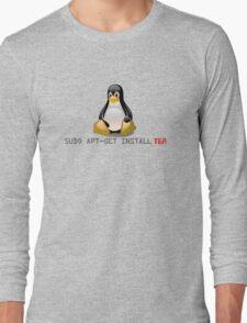 Linux - Get Install Tea Long Sleeve T-Shirt