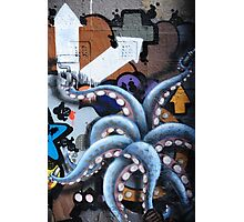 Graffiti art, Glasgow Photographic Print